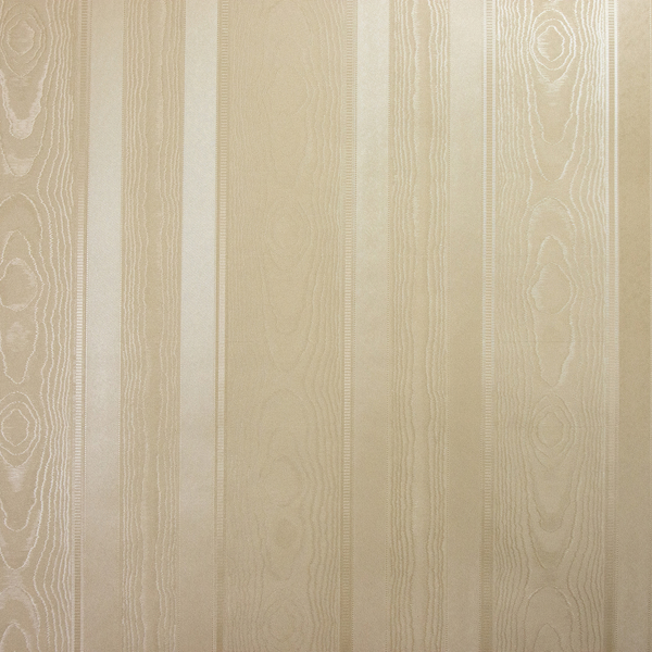 Picture of Oro Gold Textured Stripe Wallpaper
