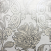 Picture of Lila Floral Scrolls Wallpaper