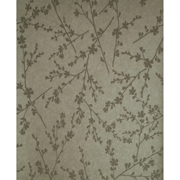 Picture of Forsythia Brass Twiggy Wallpaper