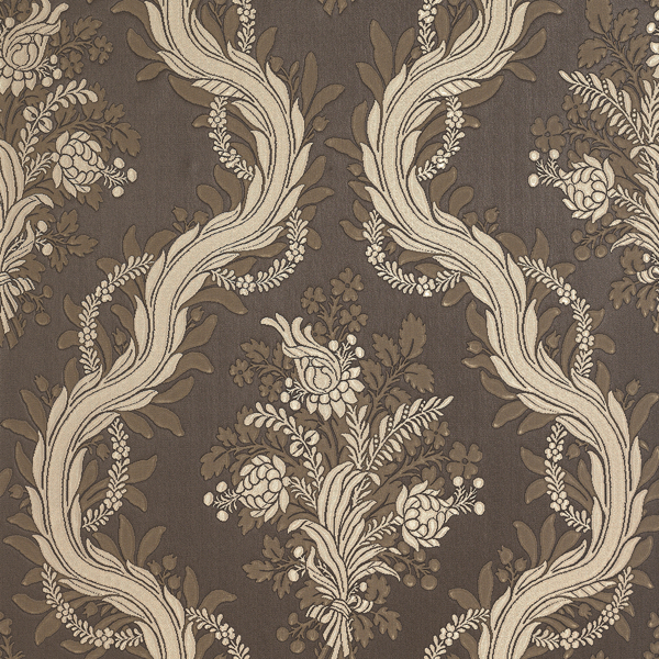 Picture of Sharla Brown Silk Bouquet Wallpaper