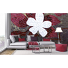 Picture of Red Mosaic Wall Mural
