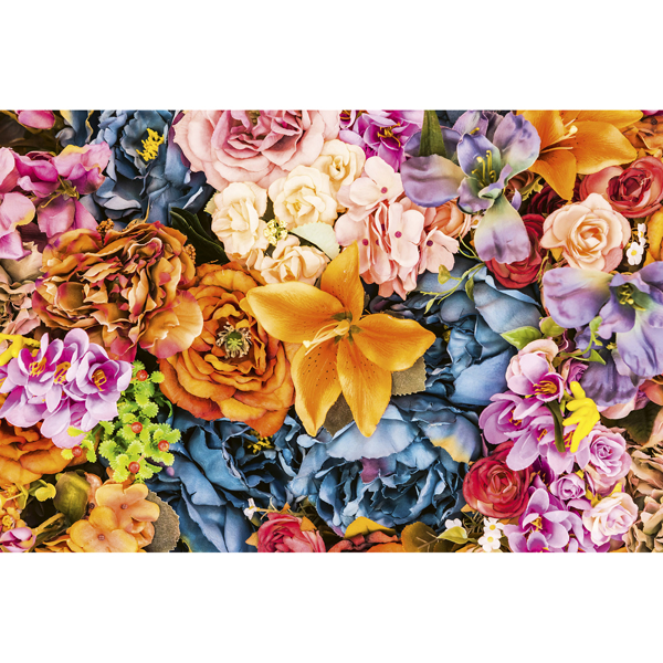 Picture of Vintage Flowers Wall Mural