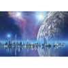 Picture of Futuristic City Wall Mural