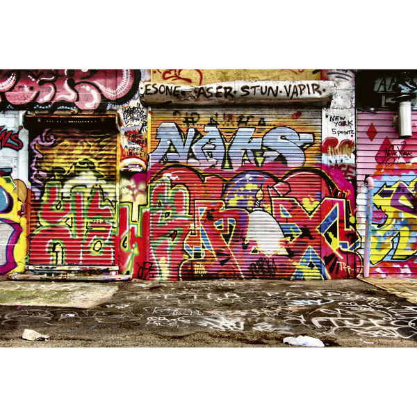 Picture of Graffiti Street Wall Mural