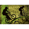 Picture of Bicycle Green Wall Mural