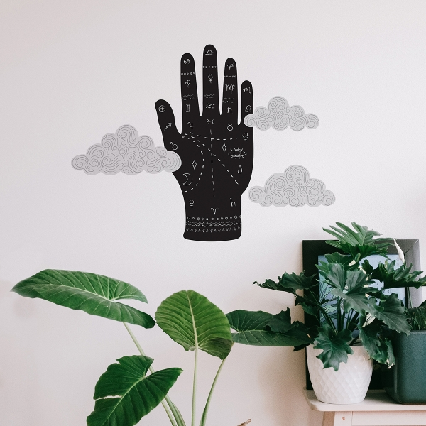 Picture of Palm Reading Wall Art Kit
