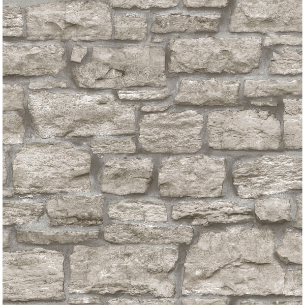 Picture of Saco Stone Peel and Stick Wallpaper