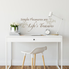 Picture of Life's Treasures Wall Quote Decals