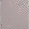 Picture of Shard Grey Trellis Wallpaper