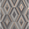 Picture of Shard Charcoal Geometric Wallpaper