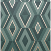 Picture of Shard Turquoise Geometric Wallpaper