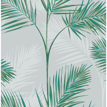 Picture of South Beach Stone Fronds Wallpaper