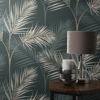 Picture of South Beach Evergreen Fronds Wallpaper
