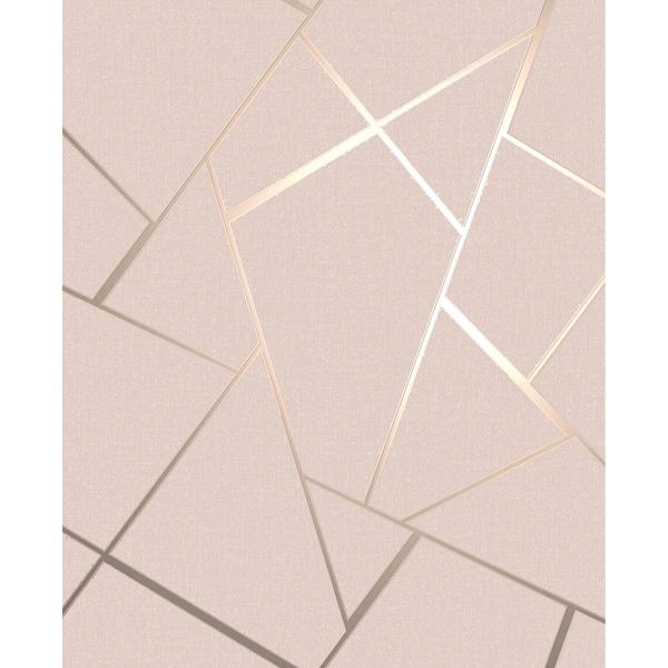 Picture of Quartz Blush Fractal Wallpaper