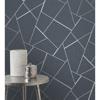Picture of Quartz Navy Fractal Wallpaper