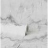 Picture of Aura Silver Marble Wallpaper