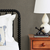 Picture of Hanalei Brown Fabric Texture Wallpaper