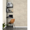 Picture of Lanier Neutral Stone Plank Wallpaper