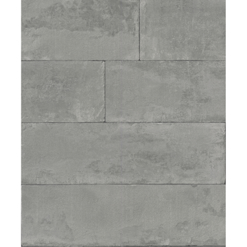 Picture of Lanier Grey Stone Plank Wallpaper