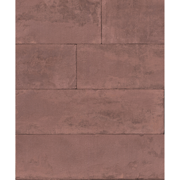 Picture of Lanier Oxblood Stone Plank Wallpaper