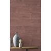 Picture of Lanier Oxblood Stone Plank Wallpaper