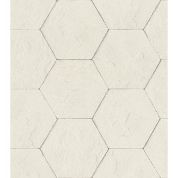 Picture of Bascom Dove Stone Hexagon Wallpaper