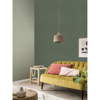 Picture of Haast Mint Vertical Woven Texture Wallpaper
