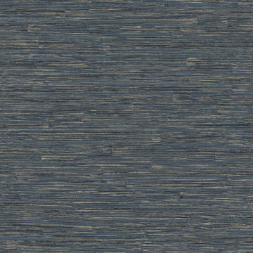 Picture of Hutton Dark Blue Tile Wallpaper