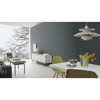 Picture of Hutton Dark Blue Tile Wallpaper