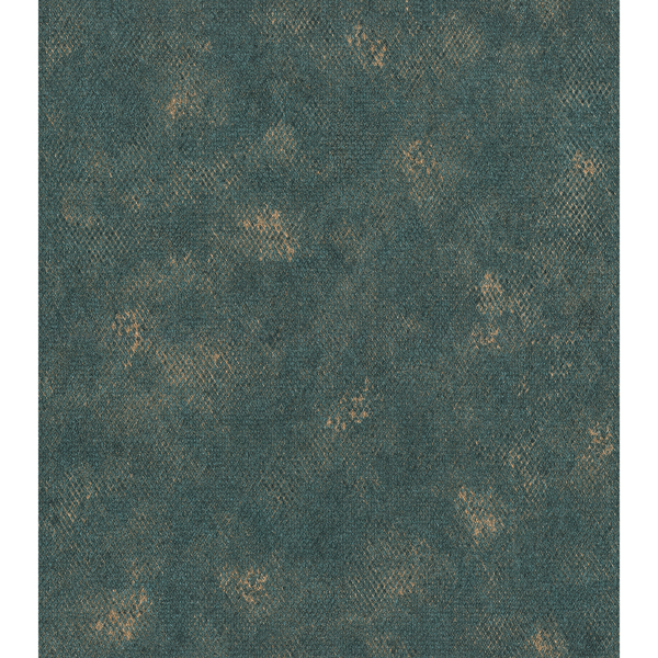 Picture of Roderick Teal Faux Snakeskin Wallpaper
