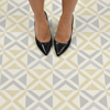 Picture of Isosceles Peel and Stick Floor Tiles