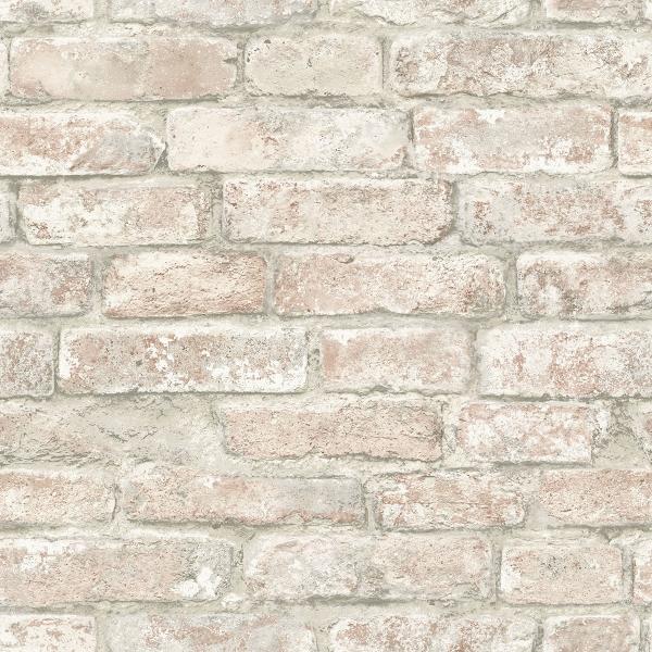 NHS3708 - White Washed Denver Brick Peel and Stick ...
