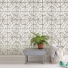 Picture of Newport Tin Tile Peel and Stick Wallpaper