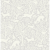 Picture of Grey Merriment Peel and Stick Wallpaper