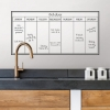 Picture of Whiteboard Weekly Dry Erase Calendar Decal