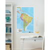 Picture of South America Dry Erase Map