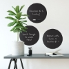 Picture of Charcoal Black Dry Erase Dot Decals