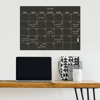 Picture of Black Dry Erase Calendar Decal