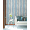 Picture of Cannon Blue Distressed Wood Wallpaper