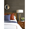 Picture of Ming Taupe Grasscloth Wallpaper