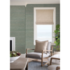 Picture of Batad Green Grasscloth Wallpaper