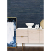Picture of Pattini Indigo Grasscloth Wallpaper