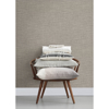 Picture of In the Loop Cream Faux Grasscloth Wallpaper