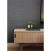 Picture of Essence Dark Grey Linen Texture Wallpaper