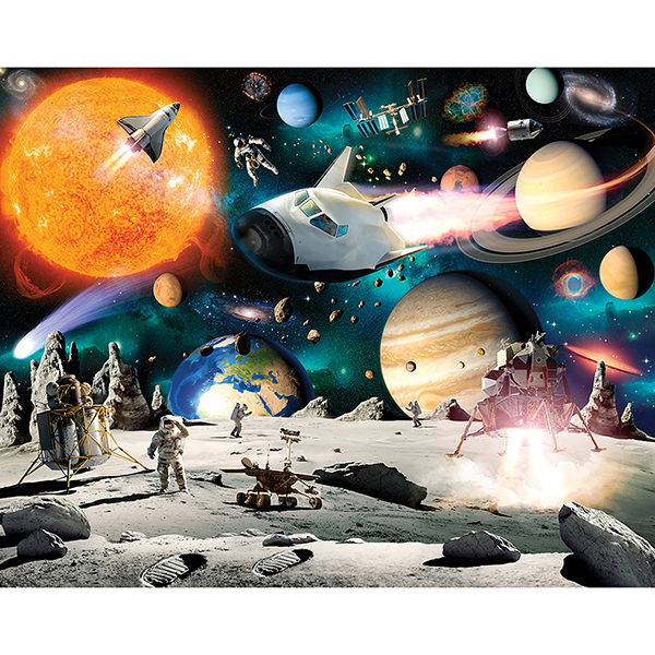 Picture of Space Adventure Wall Mural