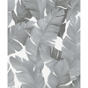Picture of Attalea Grey Palm Leaf Wallpaper