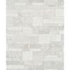 Picture of Hernando White Stones Wallpaper