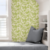 Picture of Pear Balinese Peacock Scalamandré Self Adhesive Wallpaper