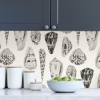 Picture of Graphite Coquina Scalamandré Self Adhesive Wallpaper