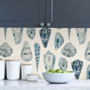 Picture of Porcelain Coquina Scalamandré Self Adhesive Wallpaper